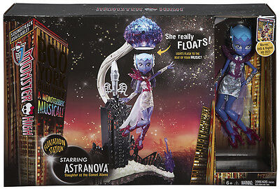 Monster High Boo York Floatation Station & Astranova Doll Playset - CHW58 - New