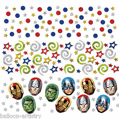 Marvel's AVENGERS HEROES Children's Party Confetti Table Sprinkles Triple Pack