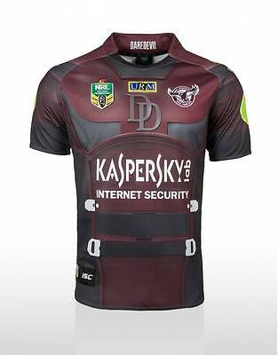 Manly Sea Eagles ISC Marvel Dare Devil Jersey Sizes S-5XL! BNWT's!