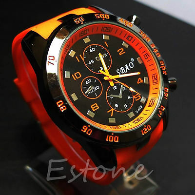 Stainless Steel Luxury Sport Analog Quartz Modern Men Fashion Army Wrist Watch