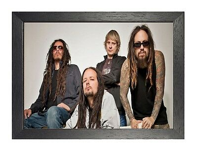 Korn 2 American Nu Metal Band Poster Davis Music Star Picture Legend California