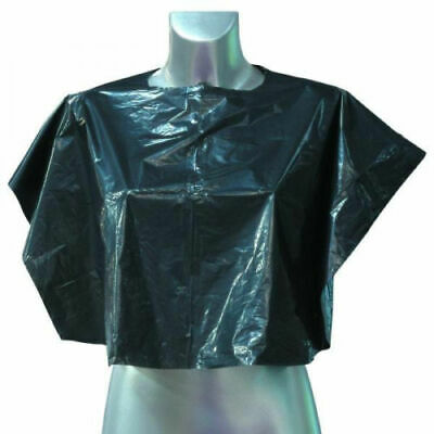 Disposable shoulder capes - black - Pack 100