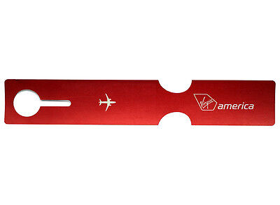 Virgin America Airlines Luggage Tag
