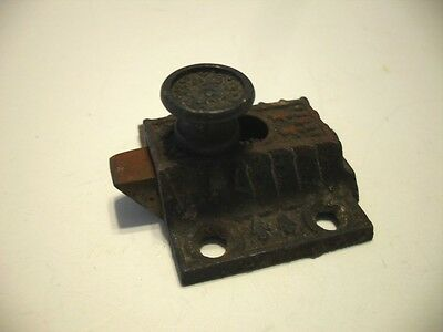 Vtg STEEL Hoosier Cabinet Cupboard Door Slide Latch (No Catch Keeper or Spring)