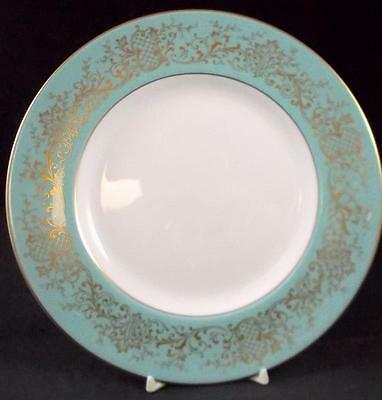 Royal Doulton DELAMERIE TURQUOISE Salad Plate H4968 LIGHT USE