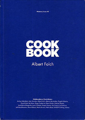 Rare COOKBOOK Magazine #2 ALBERT FOLCH @NEW HARDBACK@ Only 500 Copies Published