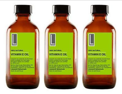 VITAMIN E OIL 100% PURE NATURAL 200ml