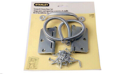 Stanley 74-6405 Screen & Storm Door Set with Full Surface Hinge Made in USA