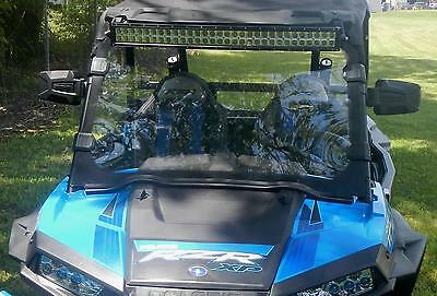 Rzr 4 Xp1000 900S 4 Seater Full Windshield Hard Coated With Clamps #ac-Fw-15-Rzr