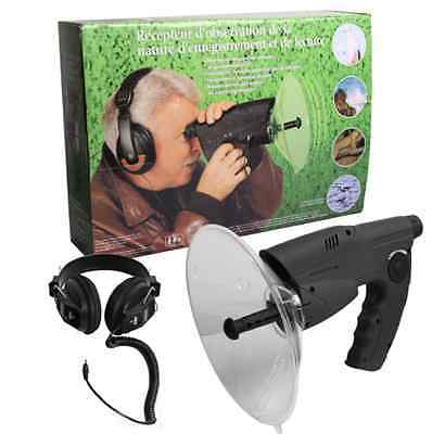 Parabol directional microphone McVoice Extreme includes Rifle scope