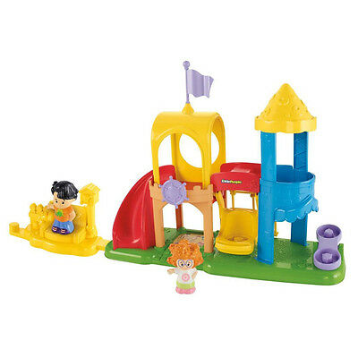 Childrens Fisher Price Little People Playground Park Swings For Ages 1-4 Years