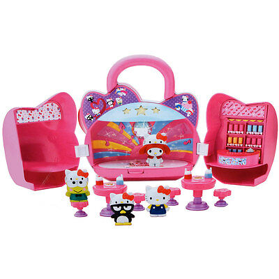 Hello Kitty & Friends Dancin Darlins Roller Disco Girls Figure Play Set Toy New