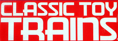 Classic Toy Trains Magazine Back Issues 2003 - 2019