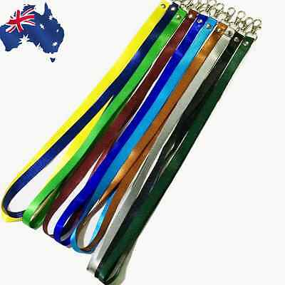 10pcs Lanyard Neck Strap Hook ID Card Name Tag Employee School Work SCARD 15