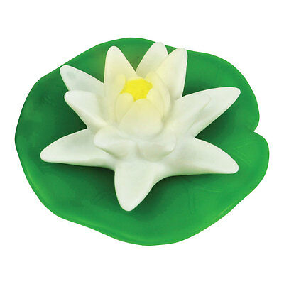 Floating Colour Changing LED Water Lily Pad Bath Spa Garden Pool Pond Light New