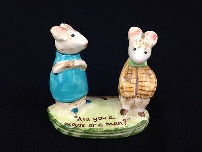 Beswick England Kitty McBride Strained Relations #2532 Porcelain Mouse Figurine