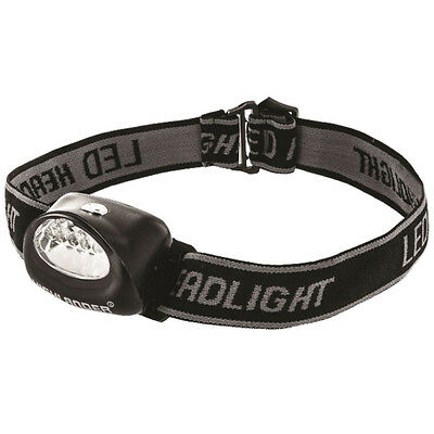 NEW Highlander Fornax Military Army DIY Camping Fishing LED Head Torch Headlamp