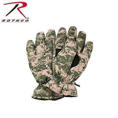 4955 Rothco Insulated Hunting Gloves - ACU Digital Camo