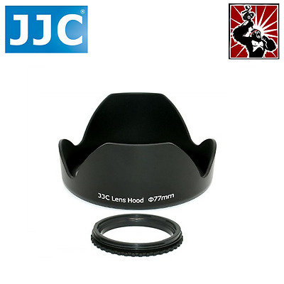 Universal Bayonet Style Lens Hood for Zoom Lens with 77mm filter thread