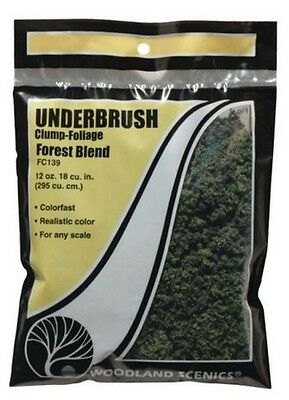 Woodland Scenics Underbrush Clump Foliage Forest Blend FC139