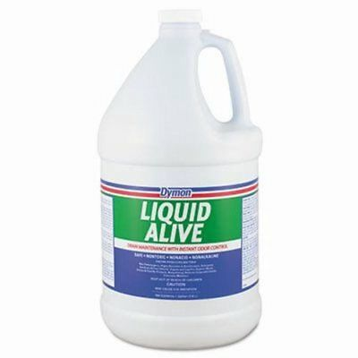 LIQUID ALIVE Enzyme Producing Bacteria Drain Cleaner, 4 Gallons (DYM 23301)