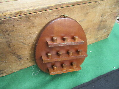 Wooden Thimble Display Holder Rack
