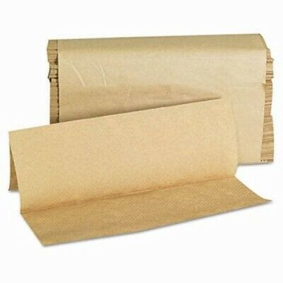 GEN 1508 Brown Multi-Fold Paper Towels, 4,000 Towels (GEN1508)