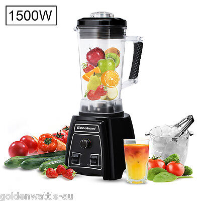 NEW 1500W Electric Maker Blender Food Processor Mixer Juicer Smoothie Ice Crush
