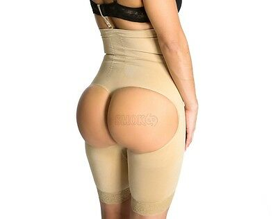 9b4274b41 High Waist tummy Control Slim Butt Trainer lifter Thigh Bodyshaper Faja  69005