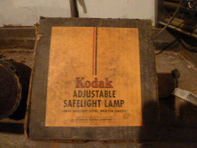 Kodak Adjustable Safelight Lamp