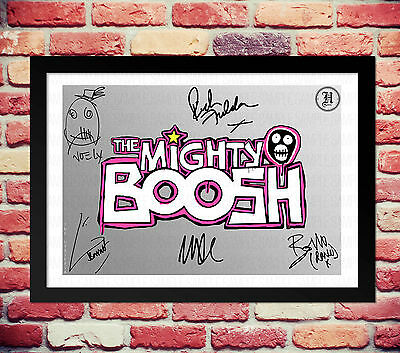 The Mighty Boosh Cast Signed Autograph Print Poster Photo Tv Show Series Dvd