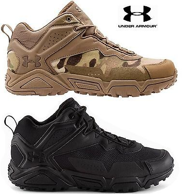 55ac172eef41a UNDER ARMOUR TABOR Ridge Low Tactical Boot Mens UA Lightweight All Terrain  Boots