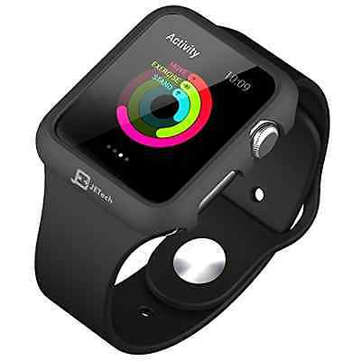 JETech 3170 Apple Watch Case 42mm iWatch Protective Bumper Case Cover Rugged