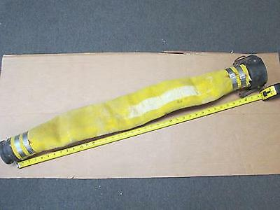 """**MFG Unknown**  3' Long 3"""" Firehose Extension w/Cam-Lock Quick Connect Couplers"""
