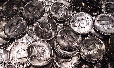 (1) Mixed Date Jefferson Silver War Nickel ~ BU Uncirculated ~ US Coin Lot Set