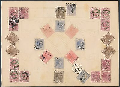 Collage Of Philippines Early Stamps Bs3610