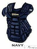 "Wilson A3310 baseball catchers chest protector 14"" NEW Navy"