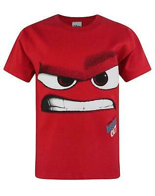 Disney Store Pixar Fest Inside Out Movie Anger Boys T Shirt Size 4 5//6 7//8 New