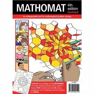 Mathomat 4th Edition Geometry Template w/ Student Book Maths Stencil H102 00014*