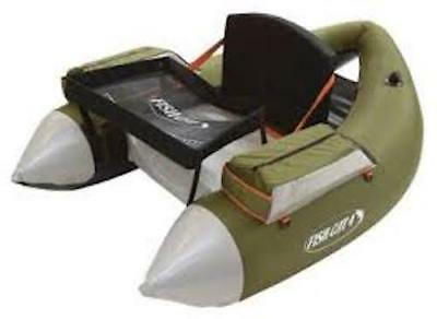 Outcast Fish Cat 4 Deluxe LCS - Olive Green - Float Tube