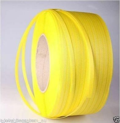 12.5mm x 1000m Band Poly Strap 120kg Breakload Strapping Polypropylene Packing