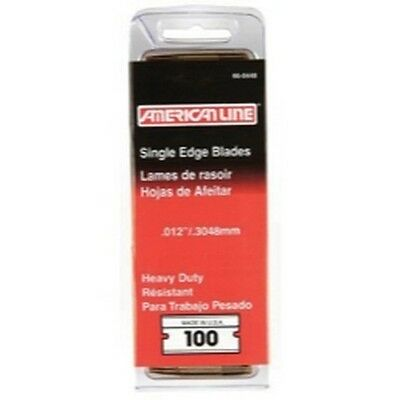 American Safety Razor 66-0448 American Line .012 Heavy Duty Single Edge Blade