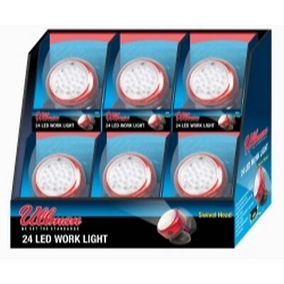 Ullman Devices RT2LT6PK Rotating Magnetic LED Work Light - 6-Pack Display