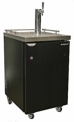 Kegerator With One-Tap Tower, Direct Draw Draft Beer Cooler, Commercial Grade