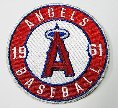 "Lot Of (1) 1961 Los Angeles Angels Baseball Patch  Patches (3 1/2"" Round) # 57"