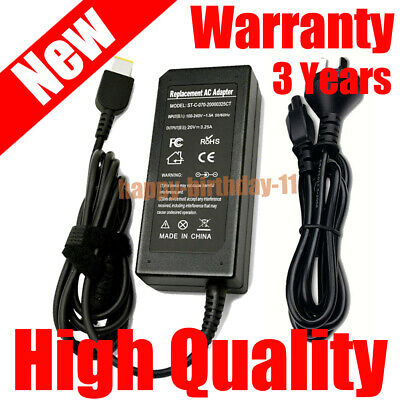 Laptop Charger 20V 45W/65W AC Adapter for Lenovo ThinkPad Yoga 11E 11S