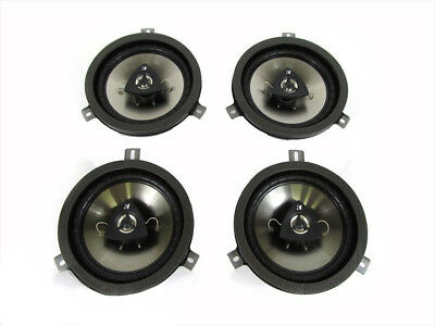 "Jeep Dodge Chrysler 6.5"" Kicker Speaker Upgrade Set Of 4 Oem Mopar Genuine New"