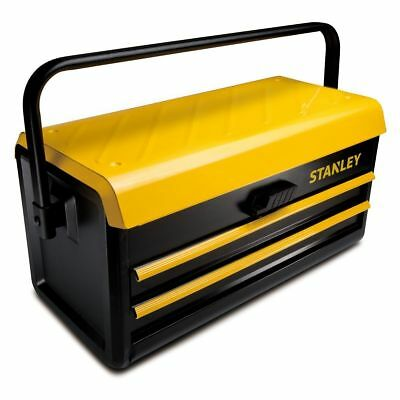 """Stanley STST1-75510 19"""" Metal Toolbox with 2 Drawer"""