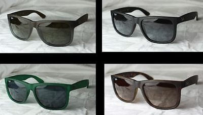 62e0cb16a5edee ORIGINAL RAY-BAN LUNETTES de soleil Justine RB 4165 neuf taille 51+ ...