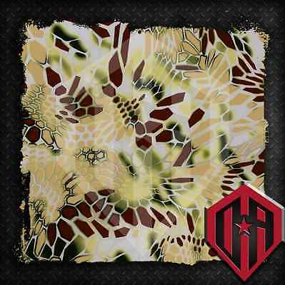 Hydrographic Water Transfer Hydrodip Hydro Dipping Film Camouflage Camo Kryptek